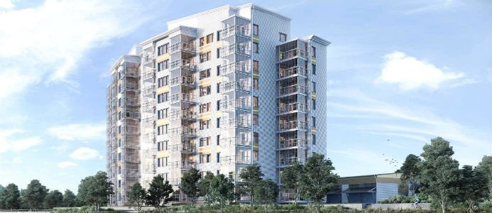 NCC bygger ytterligare 76 lägenheter i Umeå. Illustration: Bonava