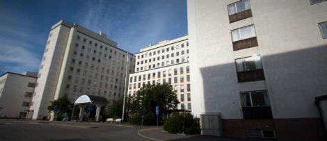 Norrlands universitetssjukhus. Bild: Forthefudge / Wikipedia