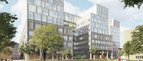 Skanska har tecknat ytterligare avtal med Region Skåne i projektet för att bygga den nya vårdbyggnaden på Malmö sjukhusområde. Bild: Skanska