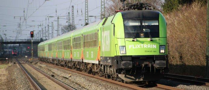 Flixtrain kommer till Sverige. Bild: Leon Vigandt / Pixabay