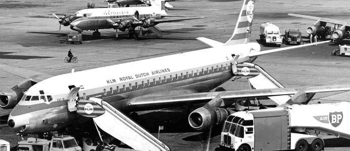 KLM Royal Dutch Airlines grundades i oktober 1919 och är det äldsta reguljärflygbolaget i världen som fortfarande är verksamt i sitt ursprungliga namn. Bild: KLM