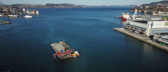 Peab har genomfört ett liknande projekt i Puddefjorden i Bergen.