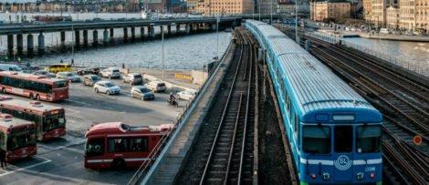 Det kinesiska bolaget China Railway Tunnel Group (CRTG) har tagit hem en av de första upphandlingarna i Stockholms tunnelbanebygge. Foto: Klas Tauberman / Pexels