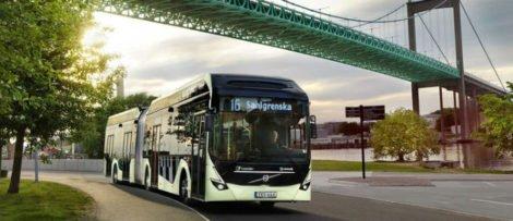 7900 Volvo Electric Articulated. Bild: Volvo Bussar