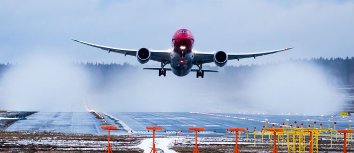 Norwegians 787 Dreamliner. Foto: David Peacock