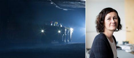 Helena Hedblom har utsetts till ny vd och koncernchef för Epiroc. Bild: Epiroc