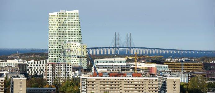 The Point är Öresundsregionens högsta kontorsbyggnad och rymmer en yta på 20 500 kvadratmeter. Foto: Klas Andersson
