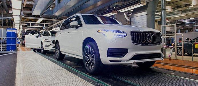 Volvo Cars stoppar hela produktionen i Sverige. Foto: Volvo Cars