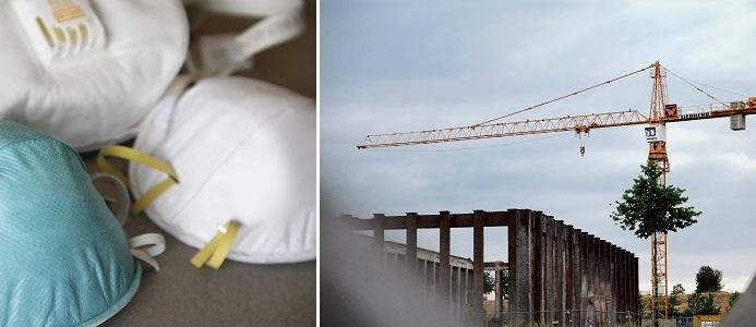 Byggnads har tagit fram riktlinjer för att förhindra smittspridning på byggarbetsplatserna. Bild: public domain CC0 image