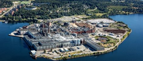 CTMP-massa vid Ortvikens pappersbruk i Sundsvall. Bildkälla: SCA