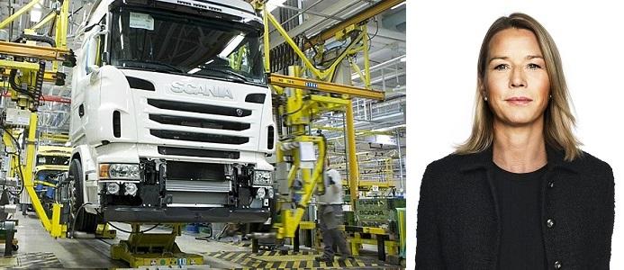 Lena Sellgren, chefekonom på Business Sweden. Foto: Scania / Pressbild