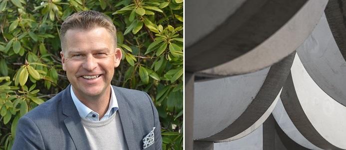 Ludwig Zetterström ny ordförande för Svensk Betong. Bild: Svensk Betong