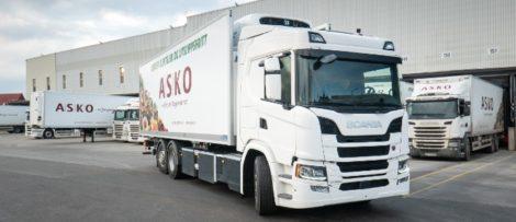 Scania ska nu leverera upp till 75 batterielektriska lastbilar under de kommande treårsperioden. Foto: Scania