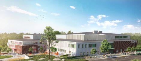 Nya Stavsborgsskolan. Fotograf: Wec360