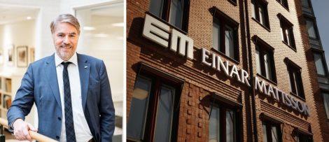 Peter Svensson blir ny vd för Einar Mattsson Byggnads AB. Pressbild / Foto: Åke Gunnarsson /VUE AB