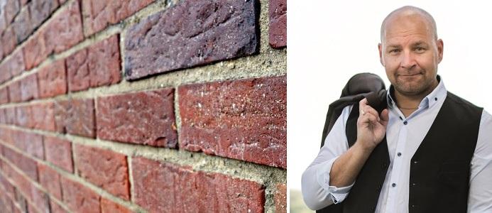 Johan Onno, vd för SPEF, branschföreningen för murat och putsat byggande. Bildkälla: SPEF