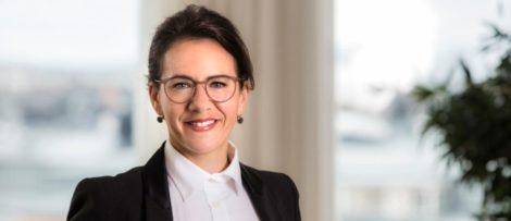 Catharina Henriksson, ansvarig för Exportkreditbarometern på SEK. Bildkälla: SEK