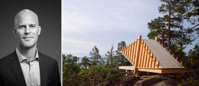 Magnus Odéen / Bild på Arknat, nominerat till utmärkelsen Swedish Design Awards. Foto: Tommie Ohlson