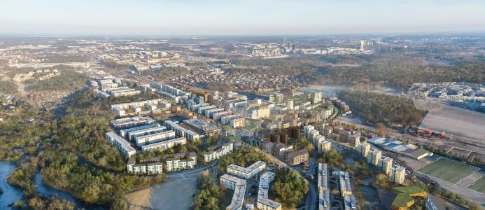 Entreprenaderna är en del av det stadsutvecklingsprojekt i Hallonbergen som ska möjliggöra en ökad befolkning och långsiktigt hållbara områden.
