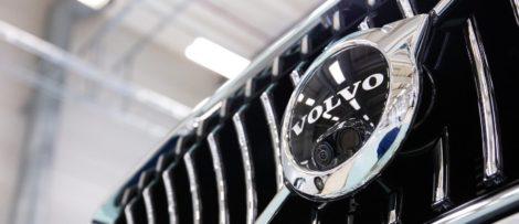 I Sverige återkallas över 900 bilar. Bild: Volvo Cars