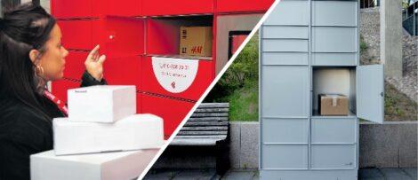 Postnord utökar sina leveranssätt. (Till vänster) Foto: Instabox (till vänster) Foto: Fotograf: Kristina Sahlén