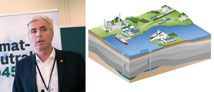 Petter Holland, vd för Preem. Illustration: CCS-teknik, Cinfracap.