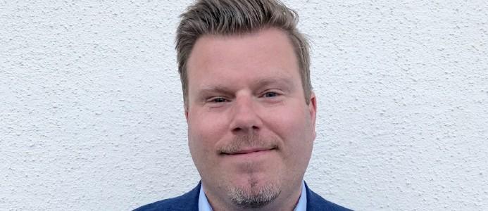 Mikael Bredelius, Riksbyggens nya marknadsområdeschef för förvaltningsverksamhet i Skaraborg. Foto: Riksbyggen