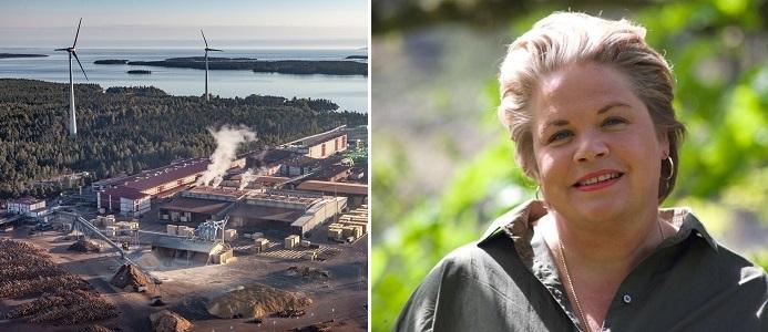 Lotta Lyrå. Bild: Södra Skogsägarna/Pressbild