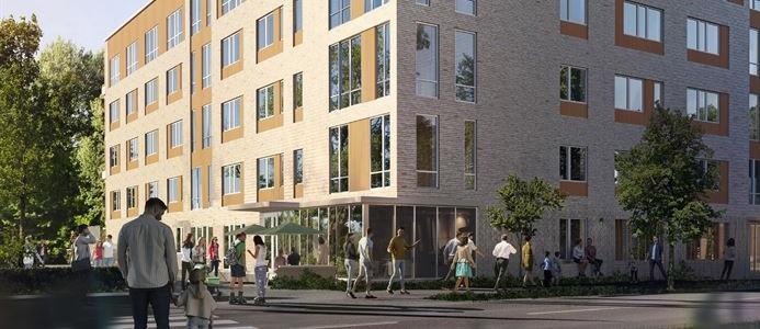 Skanska Täby Park 1. Bild av Teknik Arkitektur