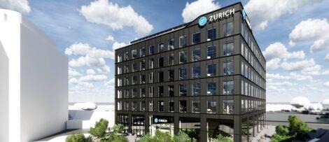 """Byggnaden väntas certifieras enligt BREEAM, nivå """"Excellent"""". Bild: Skanska"""