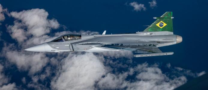 Anläggningen tillverkar delar till Gripen. Bild: Saab