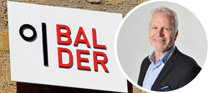 Fastighets AB Balders ekonomidirektör Magnus Björndahl. Foto: Balder