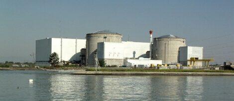 Det franska kärnkraftverket Fessenheim