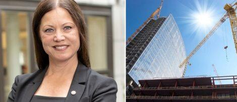 (Till vänster) Helena Hed. Fotograf: PE Teknik & Arkitektur (Till höger) Genrebild.