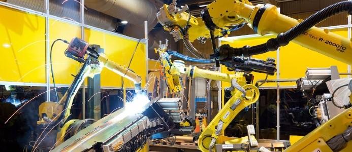 AQ Components Västerås i Smedjebacken tillverkar komplexa svetsade och bearbetade komponenter i framförallt aluminium.