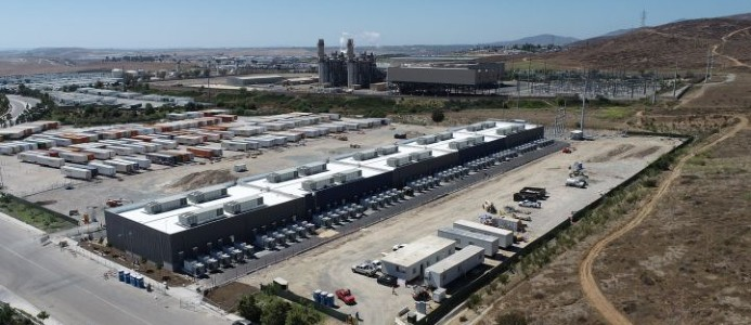 LS Powers Gateway-projekt växer i södra Kalifornien. Foto: LS Power