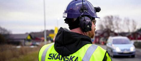 Genrebild. Arbetaren i bilden har inget med nyheten att göra. Foto: Skanska Industrial Solutions