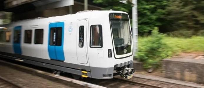 De nya C30-tågen sätts i trafik. Foto: SL