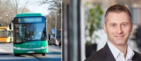Johan Lindgren ny vd för Arriva Sverige. Bild Arriva Sverige AB