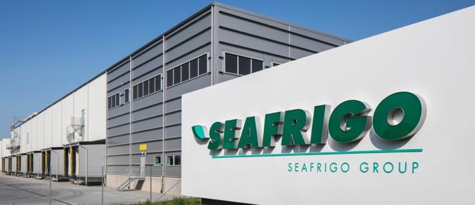 Bilden visar den anläggning om 13 000 kvm i Helsingborg som LC utvecklade för Seafrigo Nordic 2018.