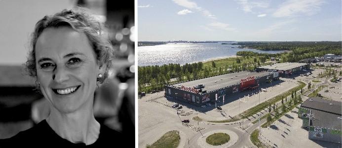 Monica Fallenius tillträder sin nya roll i mitten av augusti. Bild: Svenska Handelsfastigheter