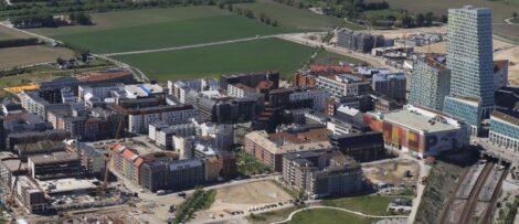 Bostäderna i Solkvarteret är ett egenutvecklat Serneke-projekt. Bild: Serneke
