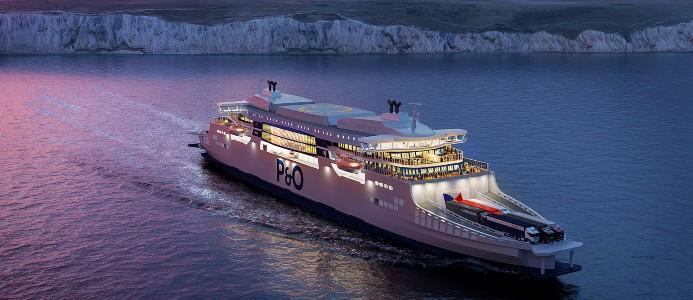 ABB driver P&O:s superfärjor mot en ny hållbar transportepok. Bild: ABB
