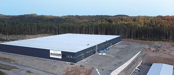 Logistikfastigheten Åre 92 i Borås kommun. Bild: Catena