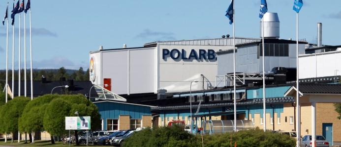 Polarbröds enhet för produktion av smörgåsar låg i bageriet som brann ner för två veckor sedan.