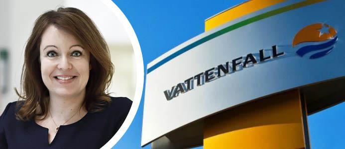 Anna Borg, vd Vattenfall. Foto: Vattenfall