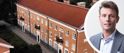 Pål Warolin, vd Fasadgruppen. Foto: Pressbild