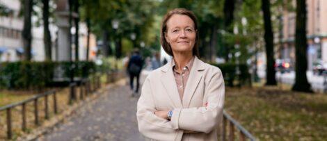 Frida Stannow Lind, ny operativ chef på Humlegården. Foto: Jonas Malmström