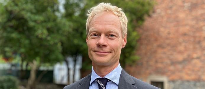 Claes Rasmuson. Ny CFO på Specialfastigheter. Foto: Specialfastigheter