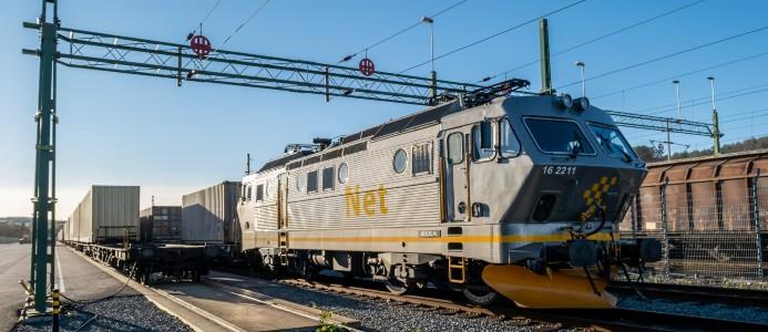 Cargonets Oslopendel på plats i Göteborgs hamn. Foto: Göteborgs Hamn AB